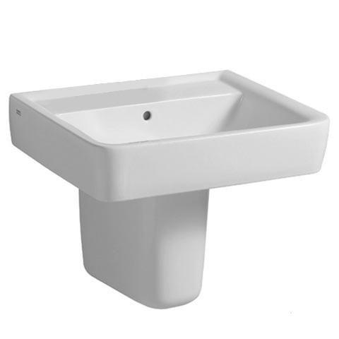 Keramag Renova Nr. 1 Plan Waschtisch weiß ohne Hahnloch mit Überlauf - 222263000 | Reuter Onlineshop