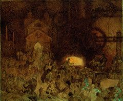 Opera alla mostra di Alphonse Mucha a Roma, Complesso del Vittoriano (Andrea Speziali) Tags: artnouveau mucha alphonsemucha muchaworks
