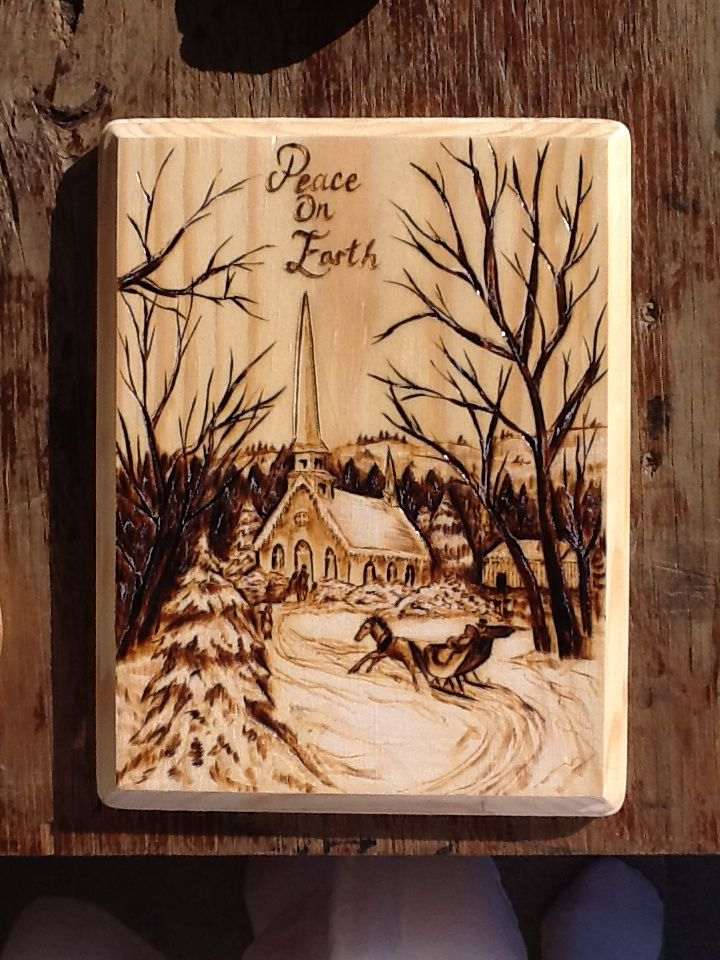 Wood Burning Art Designs Images