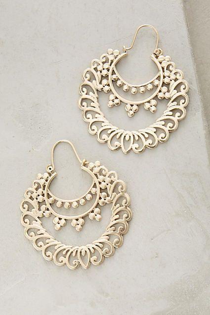 pretty gold moroccan earrings! (affiliate)