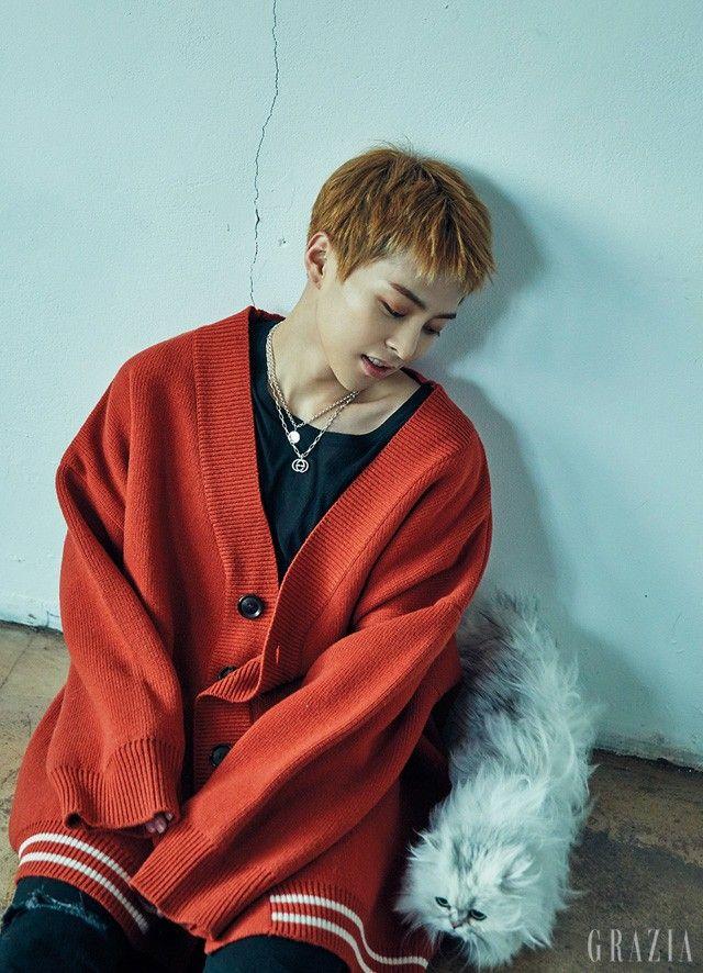 EXO Xiumin for Grazia January 2017