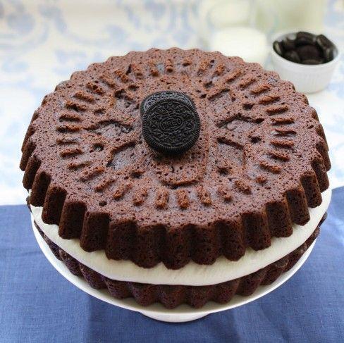 Tarta de galleta Oreo, una tarta fácil y divertida