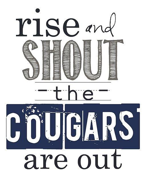 I like cougars
