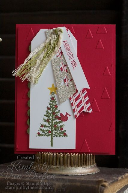 Festival of Trees stamp set, Stampin' Up!