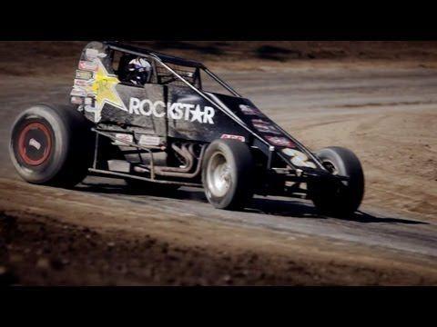 IndyCar Racing vs. Sprint Car Racing - YouTube