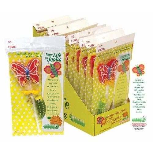 Butterfly Pop with Caterpillar Gummy & Bookmark Set
