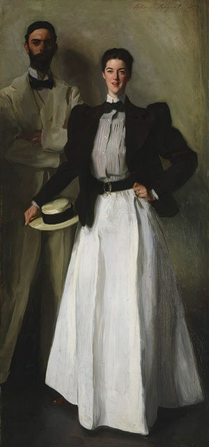 Mr. and Mrs. I. N. Phelps Stokes, John Singer Sargent, ca. 1897, The Metropolitan Museum of Art