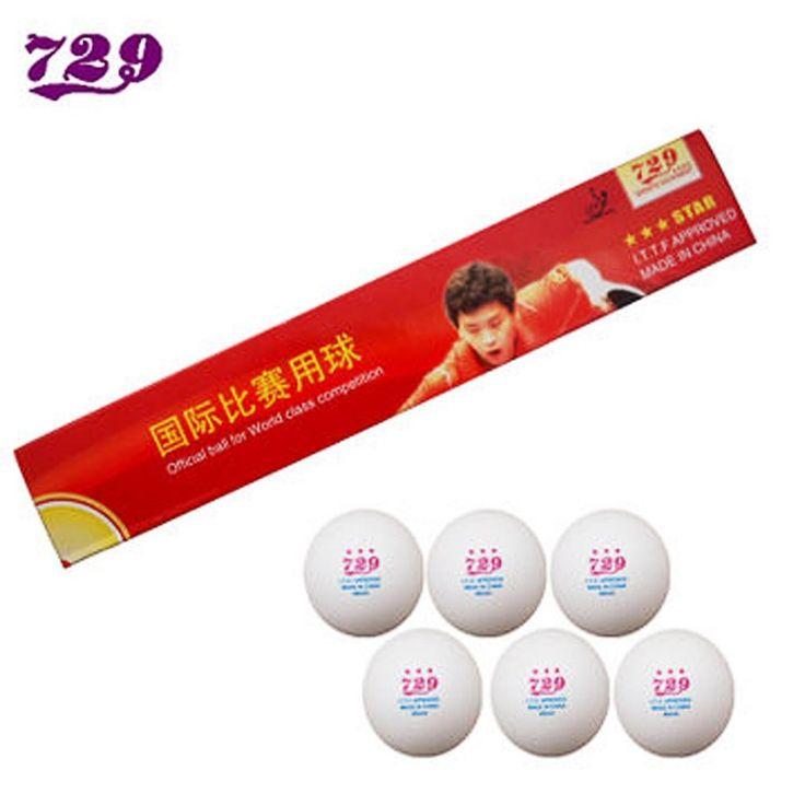 30x RITC Friendship 729 3 Star (3-Star, 3Star) 40mm White Table Tennis (PingPong) Balls #Affiliate