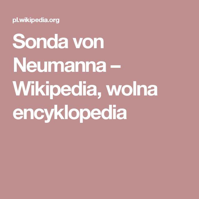 Sonda von Neumanna – Wikipedia, wolna encyklopedia