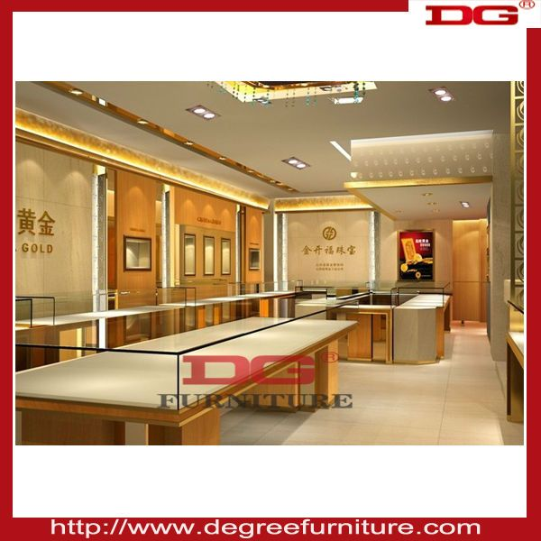 Modern Style Jewellery Store Furniture Plus Interior Design 88488