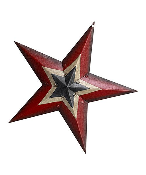 Take a look at the Patriotic Tin Star on #zulily today!