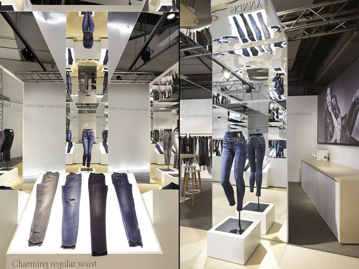 LIUJO Premium Berlin Fashion Fair Booth By Christopher Ward Germany Retail Design
