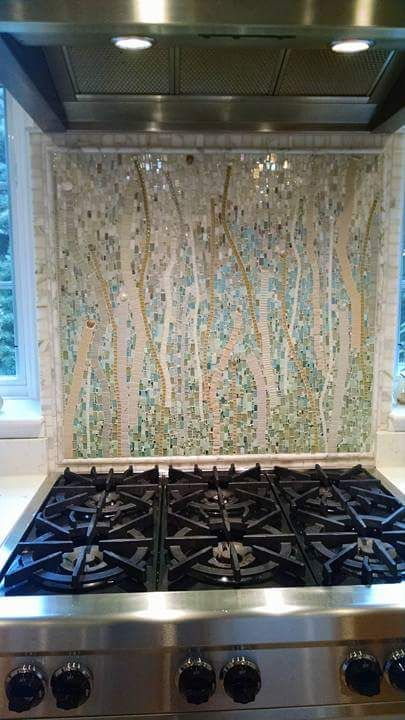 Custom designs.  Exceptional service and experience.  Unparalleled  hand-made mosaic art for your kitchen.  The focal piece you've always  imagined.  Get yours today.