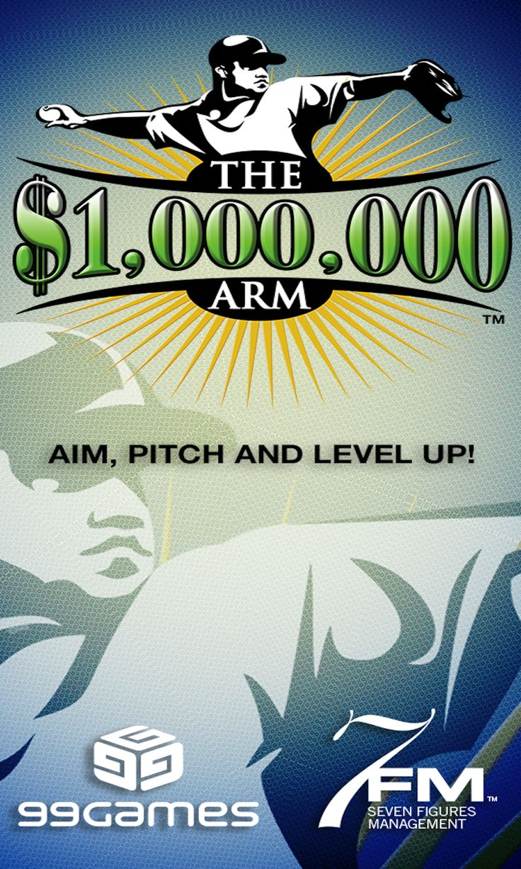 Aim, Pitch & Level-Up in the Official #MillionDollarArm Game by 99Games! Check out www.99games.in/milliondollararmgame