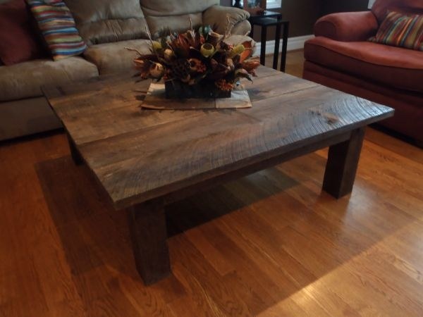 barn door coffee table 4x4 feet 400 kqsgn 3279605860 sale