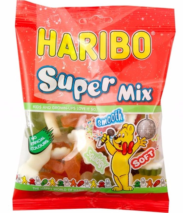 HARIBO SUPER MIX CANDY SWEETS