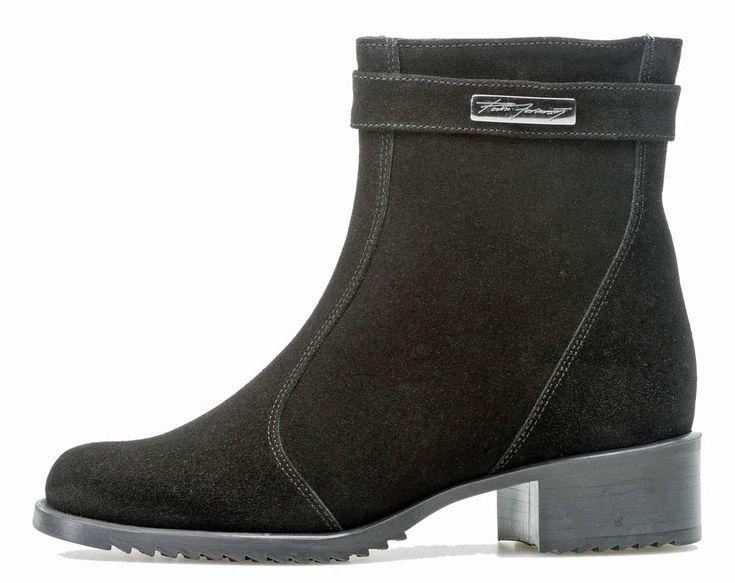 Pertti Palmroth Classics ankle boot black suede