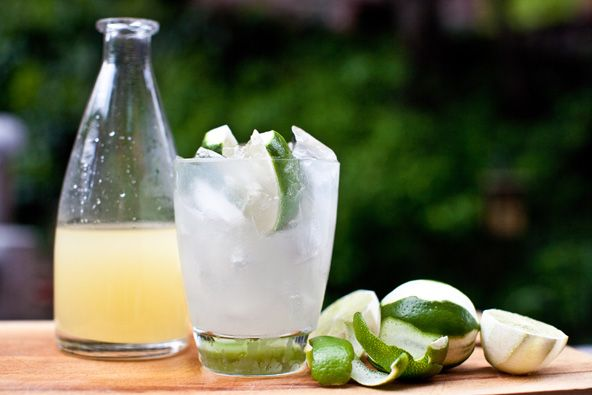 Homemade lime cordial...a fresh alternative to the bottled Rose's Lime Juice that is made with high fructose corn syrup.