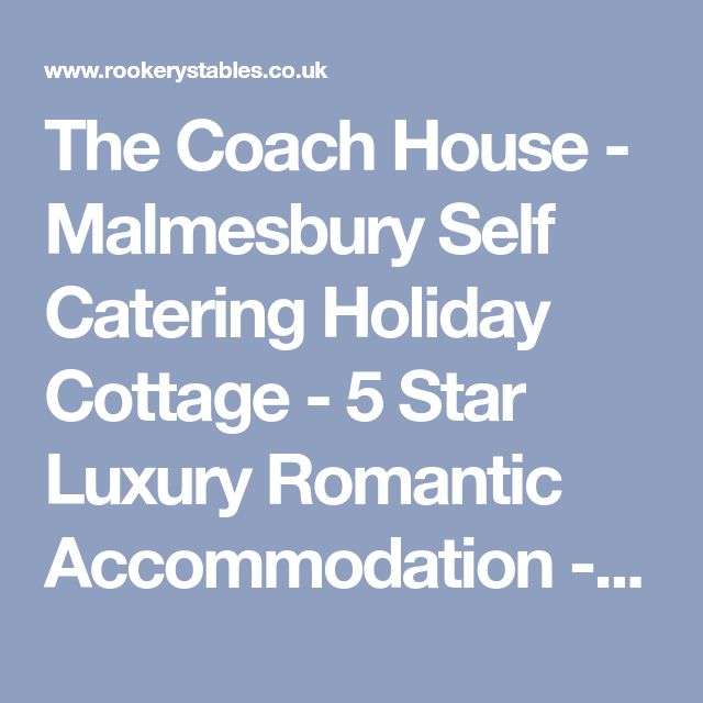 the coach house malmesbury self catering holiday cottage 5