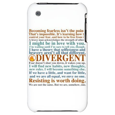 divergent phone case