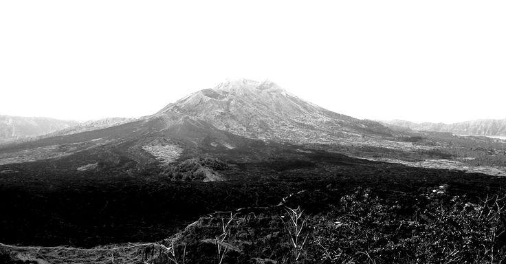 Bali vulkano, stuning.