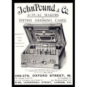 John Pound, John Pound and CO, The oldest luggage brand in the world, 1823, London,