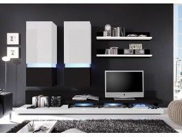 1000 images about meuble tv on pinterest metals tvs for Meuble tv mural 55 pouces