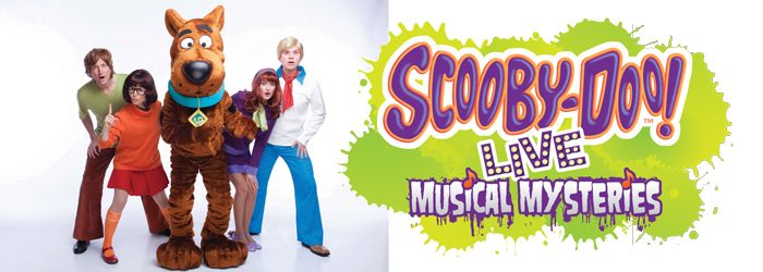 Scooby-Doo Live Musical Mysteries North American Tour 2014 at Akron Civic Theater Saturday, March 5th