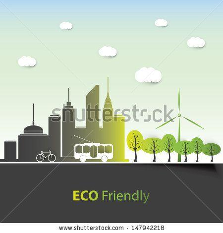 Eco Friendly - Background Design by Jozsef Bagota, via Shutterstock