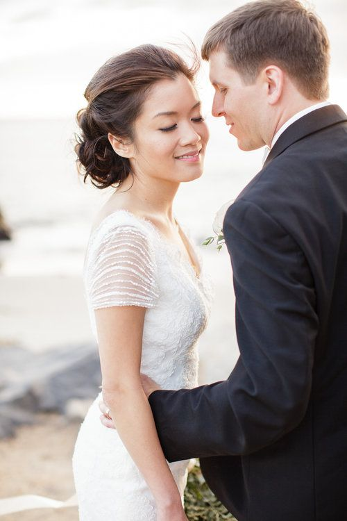 Best Hairstyle For V Neck Wedding Dress : Best 20 asian wedding hair ideas on pinterest bridal