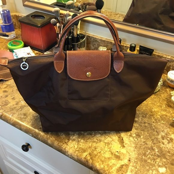 SOLD - Additional photos of Lonchamp Le Pliage See original listing in my closet. Longchamp Bags Totes