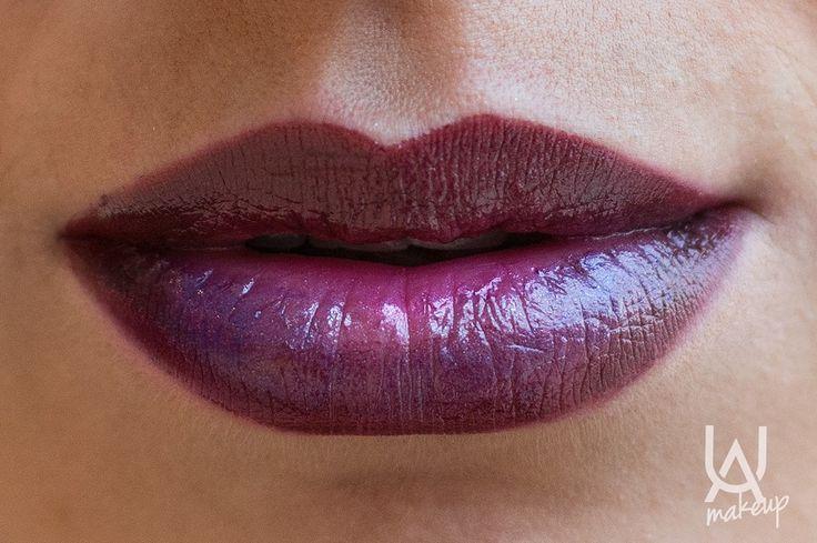 Ombre Purple Lips