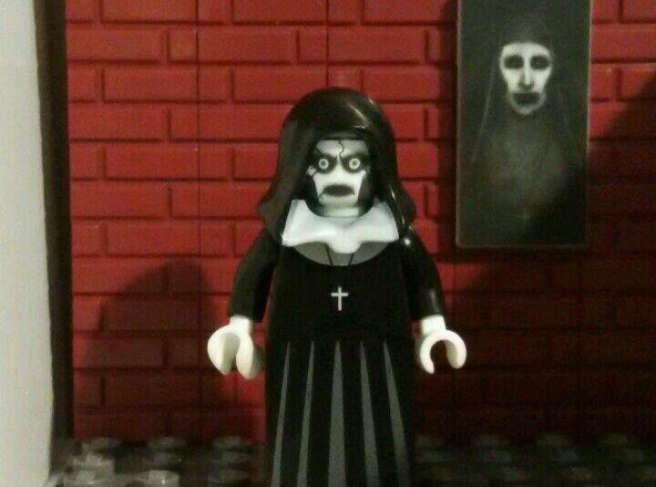 Valak the Nun Custom Lego Minifigure