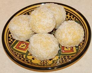 Moroccan Snowball cookies