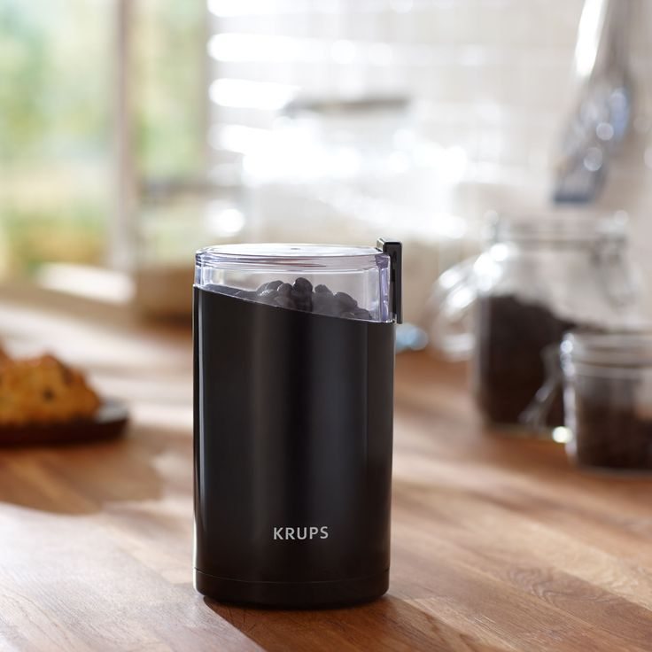Electric Grinder by Krups®  A compact coffee grinder that grinds beans uniformly, preserving flavor and aroma. Also great for spices. $19.99  http://websites-buy.com/starbucks-coffee-store