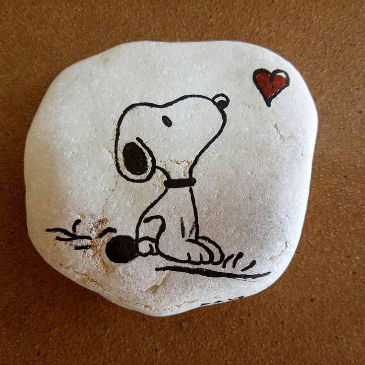 """Tribute to Snoopy #barcelona #bcn #stoneart #catalunya #snoopy #cartoon"""