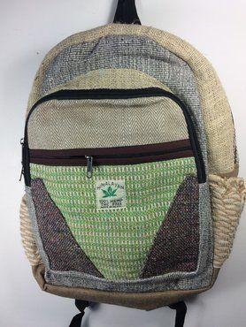 Fairtrade rugzak *groen vak*