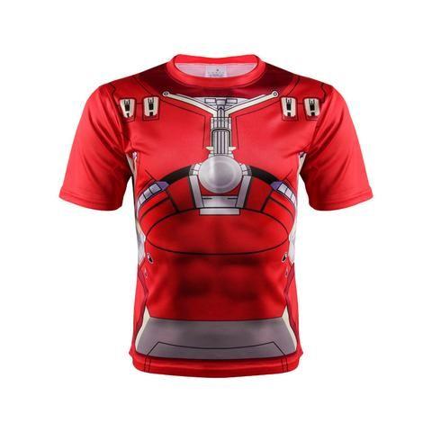 Marvel Iron Man Hulk Buster Mark 44 Dope Design 3D Printed T-shirt  #Marvel #IronMan #Hulk #Buster #Mark #44 #Dope #Design #3D #Printed #T-shirt