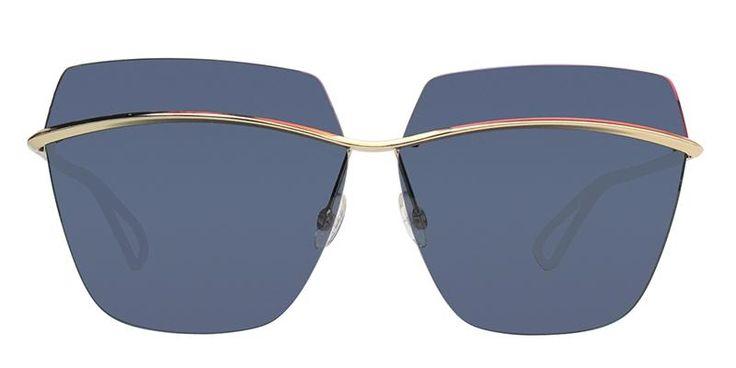 a04d52c7a2 Dior Metallic S Gold   Blue Lens Sunglasses in 2018