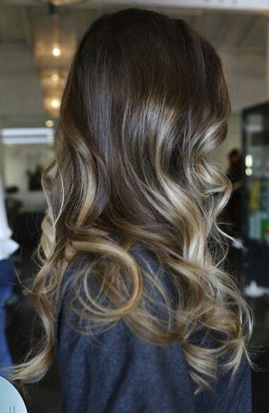 Such a pretty and subtle #ombre