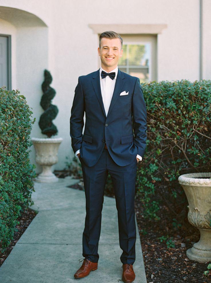 Best 25  Navy blue bow tie ideas on Pinterest | Navy blue tuxedos ...