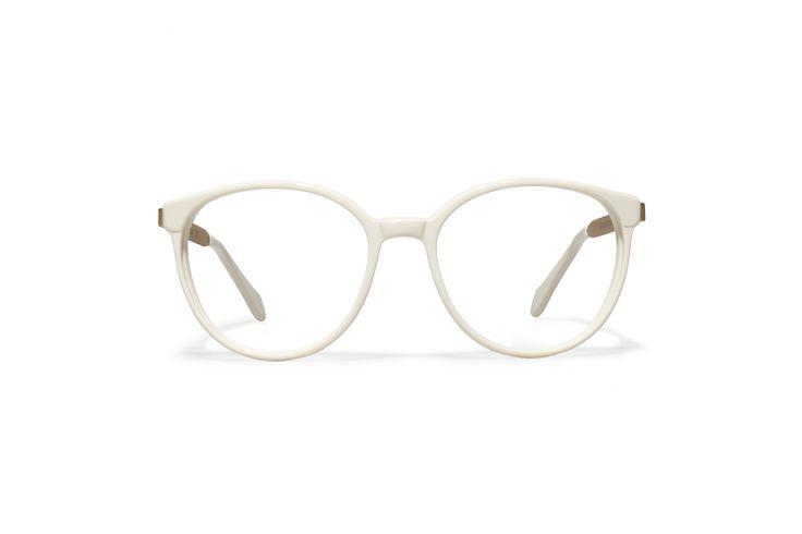 L.G.R sunglasses Mod. KEREN CM white cream matt gold
