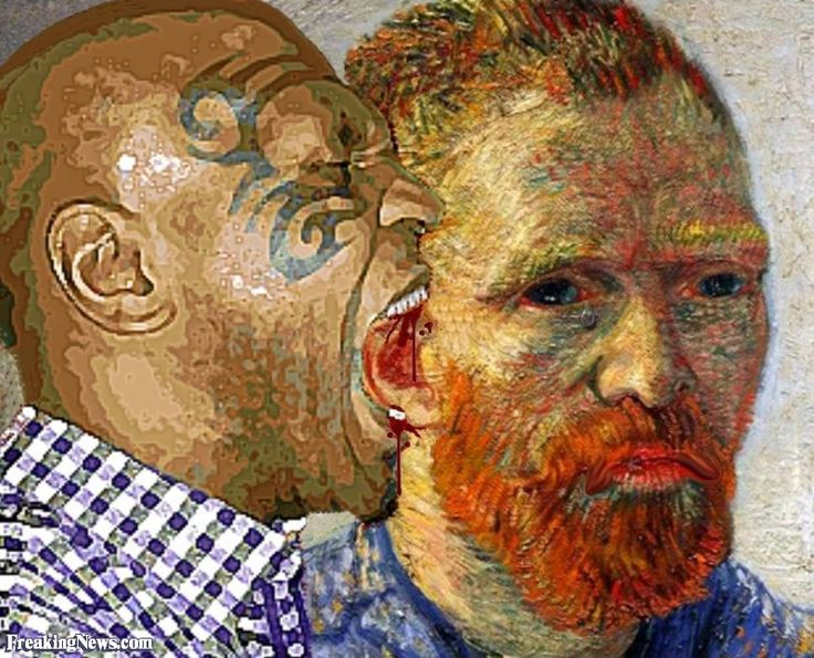 What Did Mike Tyson Say To Vincent Van Gogh