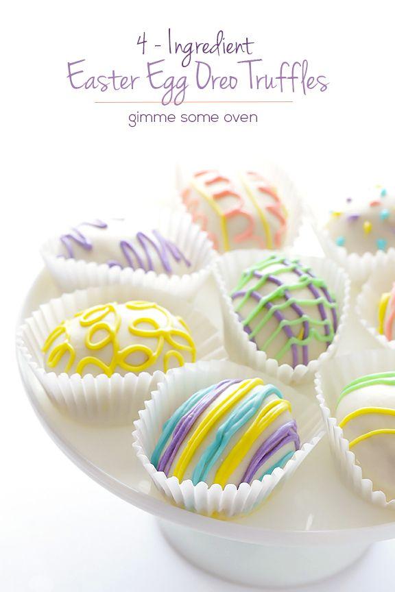 Easter Egg Golden Oreo Truffles | Gimme Some Oven