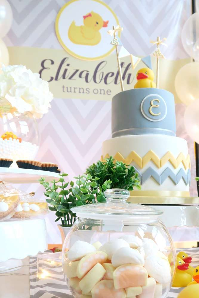 Rubber Duck Birthday Party Ideas | Photo 1 of 16