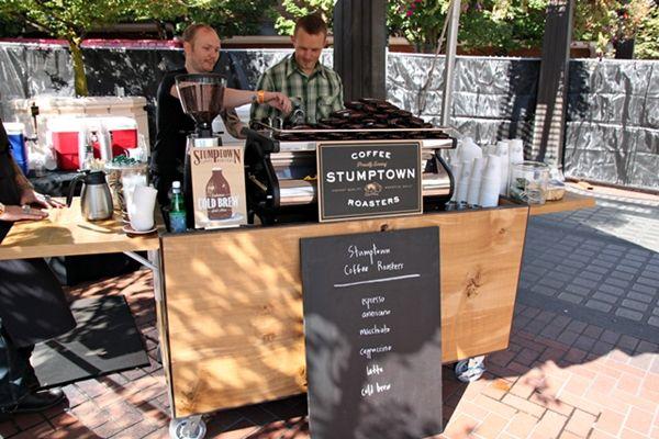 stumptown coffee cart - Google Search