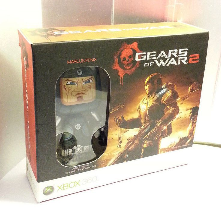 2 Gears Of War 2 Xbox 360 Limited Artdol Figures Marcus & Kantus -By Winson…