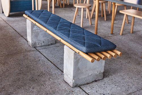Amber Road - Ume Burger - Custom bench seat