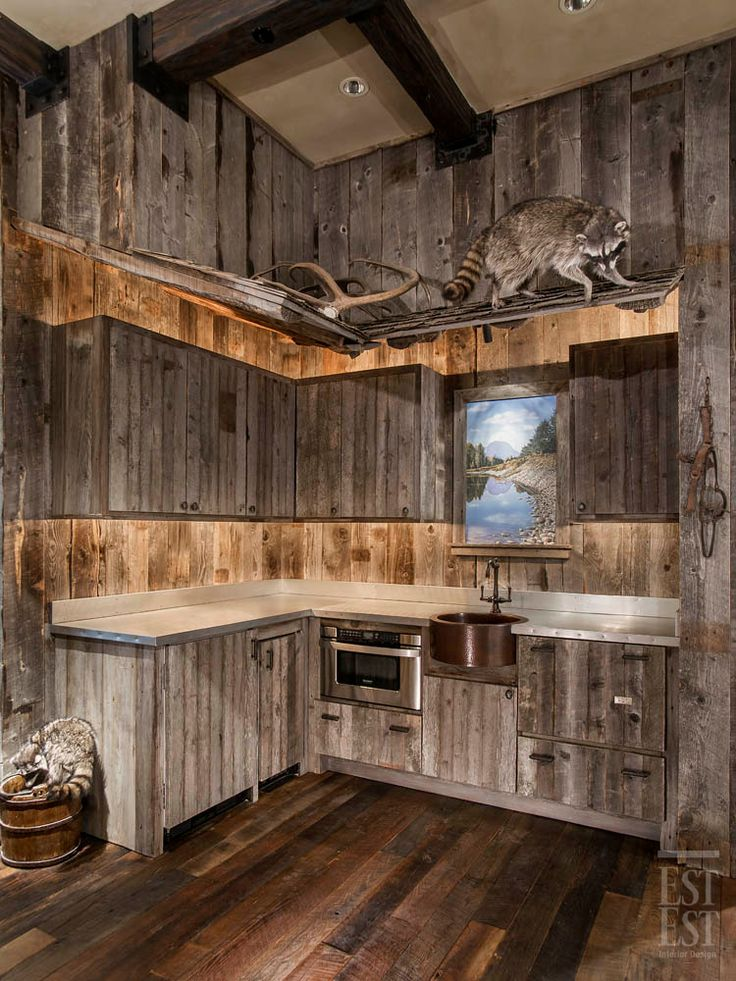 Love this look for a downstairs bar/ kitchen area ... on Rustic:1Gdhjdx6F3G= Farmhouse Kitchen  id=50555