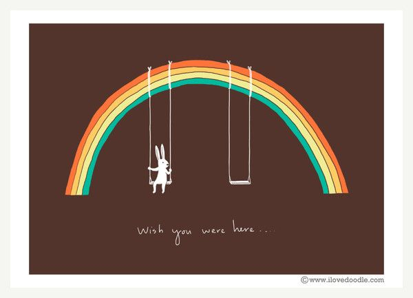 Rainbow Connection - ilovedoodle - The visual art of Lim Heng Swee